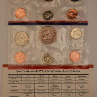 iCoins50.com-1987 Mint Set