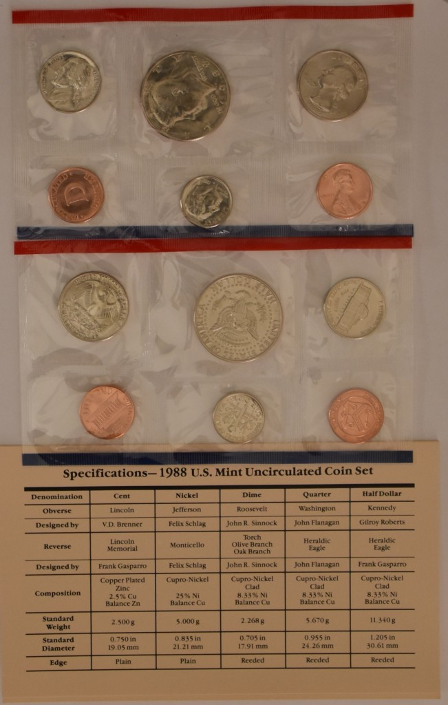 iCoins50.com-1988 Mint Set