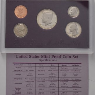 icoins50.com-US proof set 1988