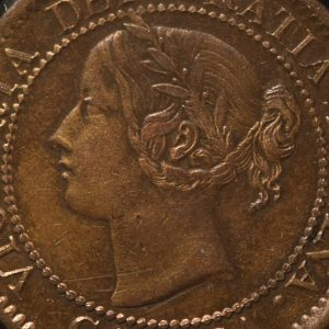 *Canadian Coins with Queen Victoria*