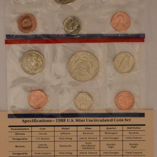 iCoins50.com 1988 Mint Set
